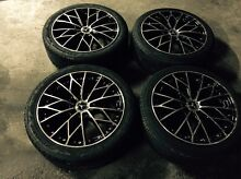 18 inch Holden astra & vectra rims& tyres Dandenong Greater Dandenong Preview