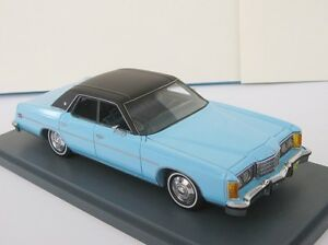 Ford LTD 1/43 NEO scale models NEO 44236 Brougham US LIGHT BLUE / BLACK