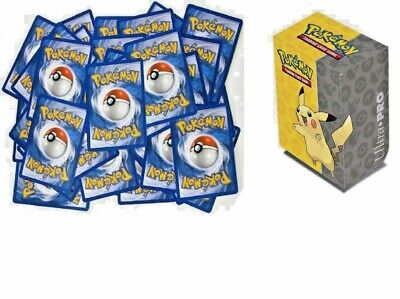 100 Pokemon Cards with 1 EX/GX or Better Card & Pikachu Deck Box (Best New Yugioh Decks)