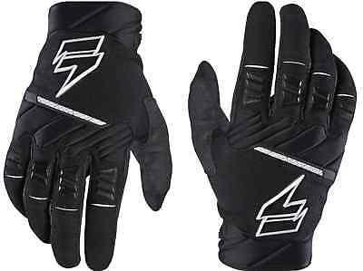 Shift WHIT3 PRO Gloves Black Motorcycle Race MX ATV Offroad Gloves 18776-001