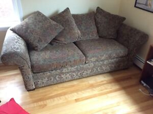 Solid wood couch great condition