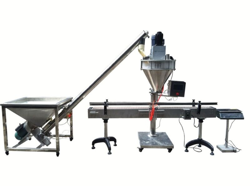 5-5000g Auto Powder Packing Weighing Filling Machine with Feeder no Converyor