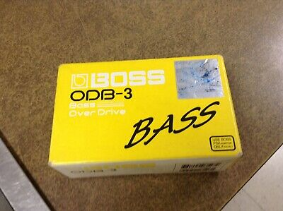 Boss ODB-3 Bass Overdrive PEDAL Effects Electric Guitar Distortion Stompbox Boss Odb 3 Bass Overdrive