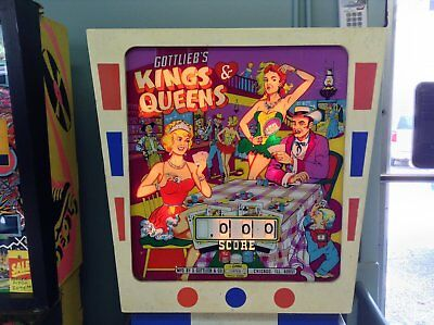 Kings & Queens Pinball Machine by Gottlieb-FREE SHIPPING