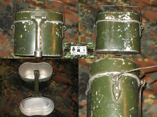 ROMANIAN MILITARY SURPLUS ( ROMANIAN COPY OF GERMAN WWII MESS KIT ) - USED