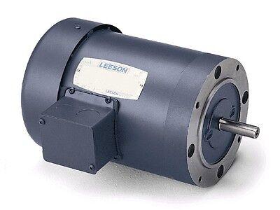 Leeson Electric Motor 132431.00 1.5 HP 1200 Rpm 3PH 208-230/460 Volt 182TC Frame