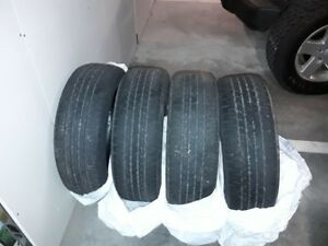 "17"" All season tires in good condition"