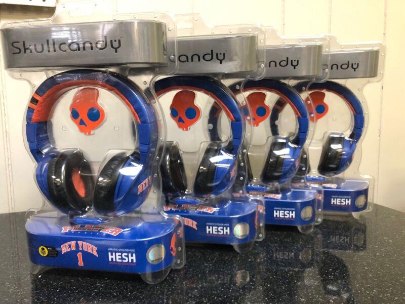Skullcandy New York Knicks Hesh Headphones with Mic - Pack of 4 - New