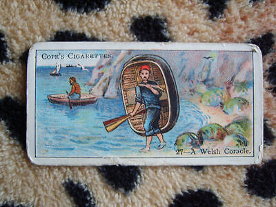 Cigarette Card : Cope Bros : Boats of the World (1912) : No 27