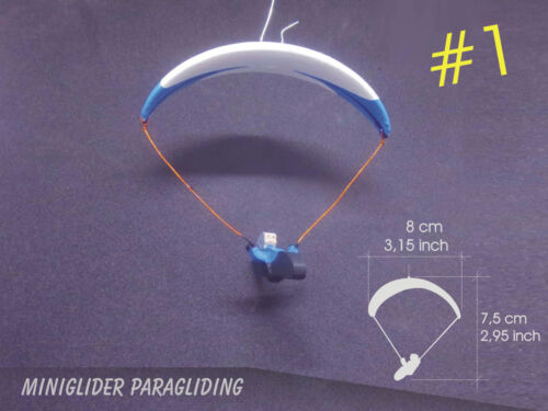 MiniGlider Paragliding Souvenir Car Decoration Inspired By Niviuk