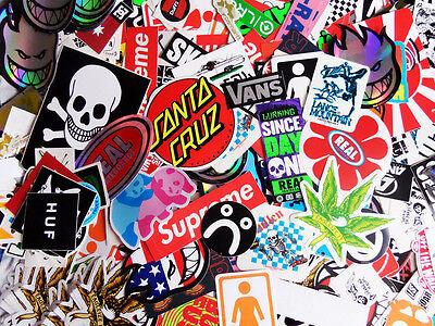 10 Skateboard Stickers Pack TOP BRANDS! Car BMX Snowboard Van Laptop Ipad Guitar