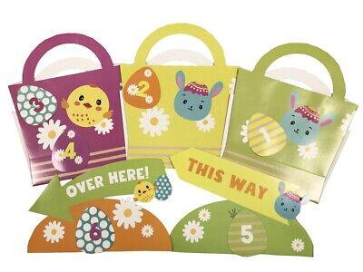 Easter Egg Hunt Kit Indoor Outdoor Search Game Signs, Baskets & Egg Tokens 0216](Easter Outdoor Games)
