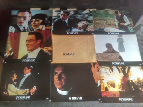 Toby STEPHENS Emily WOOF Ben KINGSLEY 8 French Lobby Cards PHOTOGRAPHING FAIRIES
