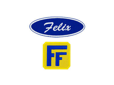 Fix-It Felix, Jr Patch Set Cosplay Costume Embroidered Iron On Patch Set Normal - Fix It Felix Costume