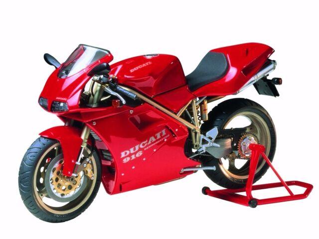 New Tamiya 1/12 motorcycle No.68 1/12 Ducati 916 14068 From Japan s/f