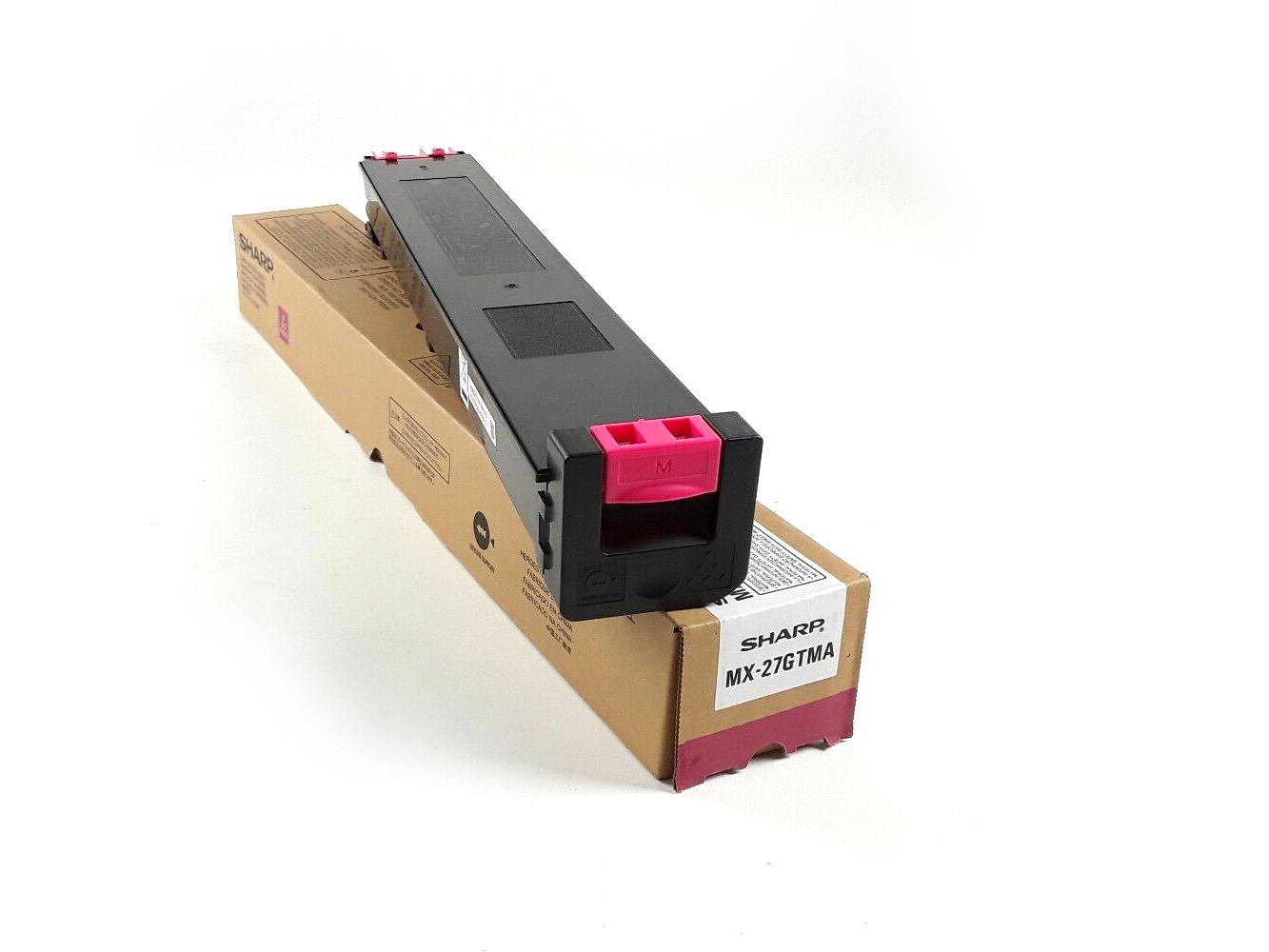 Sharp mx27gtma toner magenta original laser pour imprimante mx-2300n mx-2700n