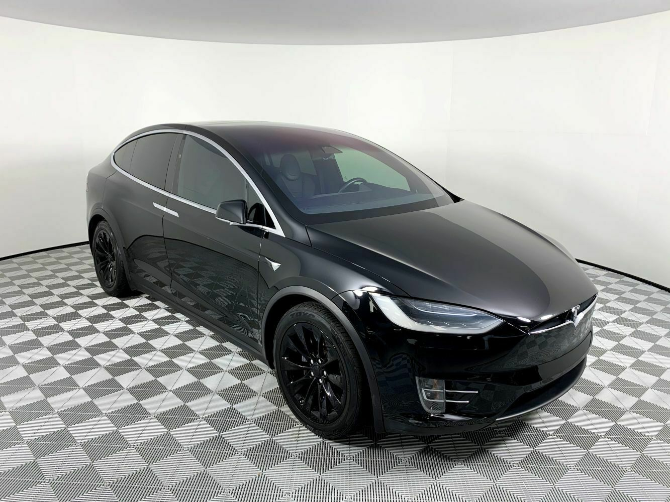 2017 Tesla Model X 100d 23502 Miles Black Sport Utility 4 ...
