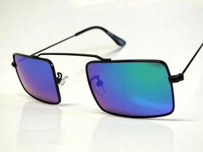Retro Vintage Aviator Sonnenbrille Pilotenbrille Verspiegelt