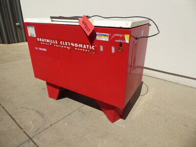 Used Washer - Graymills Batch Parts Washer WH2127-Washers