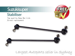 2 Front Sway Bar Link Pin Kit MAZDA MPV Stabiliser 2001-2006 Pair