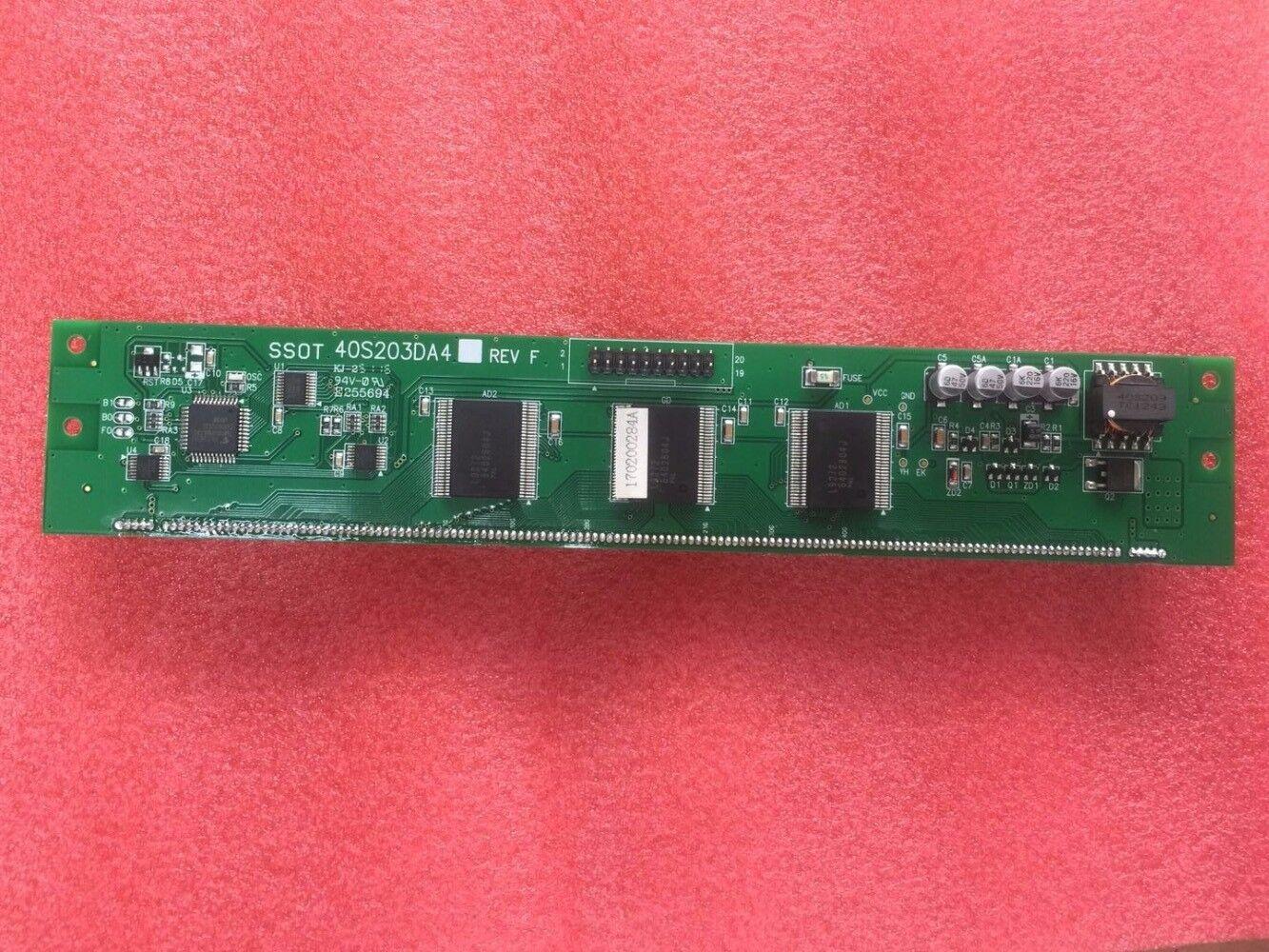 New And Original Vacuum Fluorescent Display Module 40S203DA4 Repair replacement