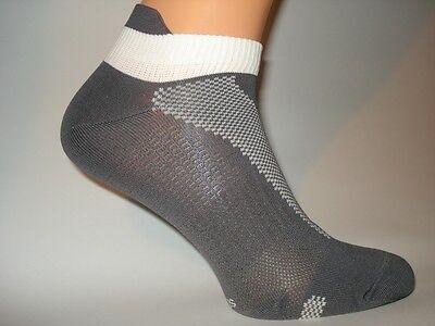 Kurze UNISEX SPORT COOL Socken m. biogenem Silber 20% gegen Fussgeruch