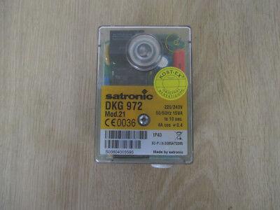 satronic DKG 972   Mod. 21   Relais Feuerungsautomat  230V   4A  K17/980