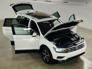 2018 Volkswagen Tiguan Highline 4Motion GPS*Cuir*Toit Panoramiqu
