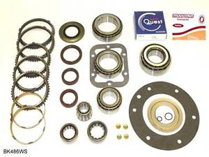 ford zf s6 650 6 speed transmission bearing kit with synchronizer rings bk486ws. Black Bedroom Furniture Sets. Home Design Ideas