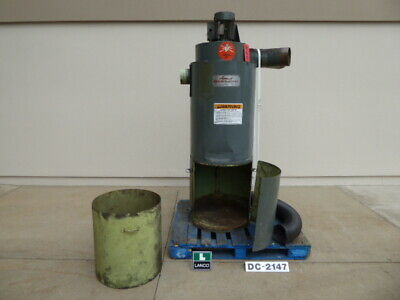Used Dust Collector - Hammond 1244 CFM Dust Collector DC2147-Dust Collectors