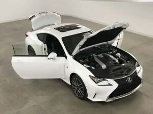 2016 Lexus RC 350 F-Sport-2 AWD GPS*Cuir*Toit*Camera Recul*