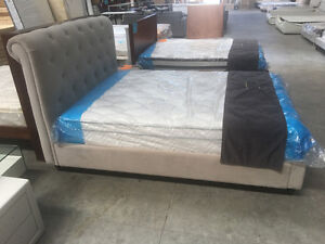 Brand New High Quality Fabric Bed Frame With Storage Double/Queen Melbourne CBD Melbourne City Preview