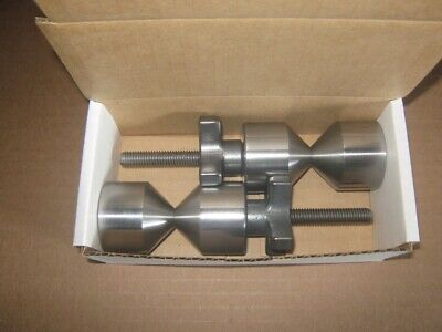 """QUICK ACTING TWO HOLE FLANGE PINS (1&5/8"""" dia.)"""