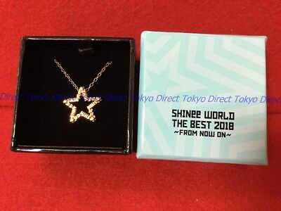 NEW SHINee WORLD 2018 Official necklace  F/S (Arrives in 7 - 12 days)