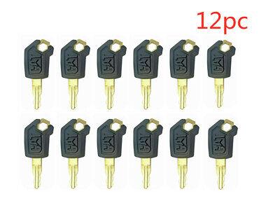 12 New Style For Cat Keys Caterpillar Heavy Equipment Ignition Key 5p8500