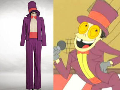 Warden Costume (Superjail Cosplay The Warden cosplay Costume Outfit custom)