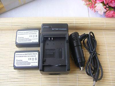 Батареи 2 BP-1030 Battery+Charger for Samsung