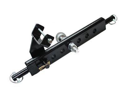 Anbaukitt 50mm Ackerschiene mit Verdrehsicherung Kugelkopf Kleintraktor Traktor