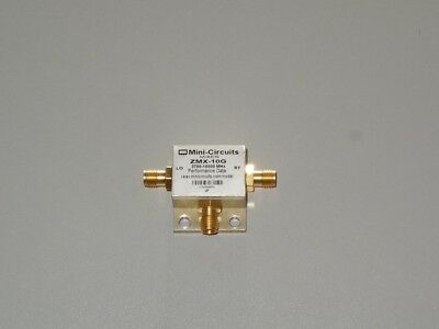 Mini-circuits Zmx-10g Coaxial Frequency Mixer 3700 To 10000 Mhz Tested