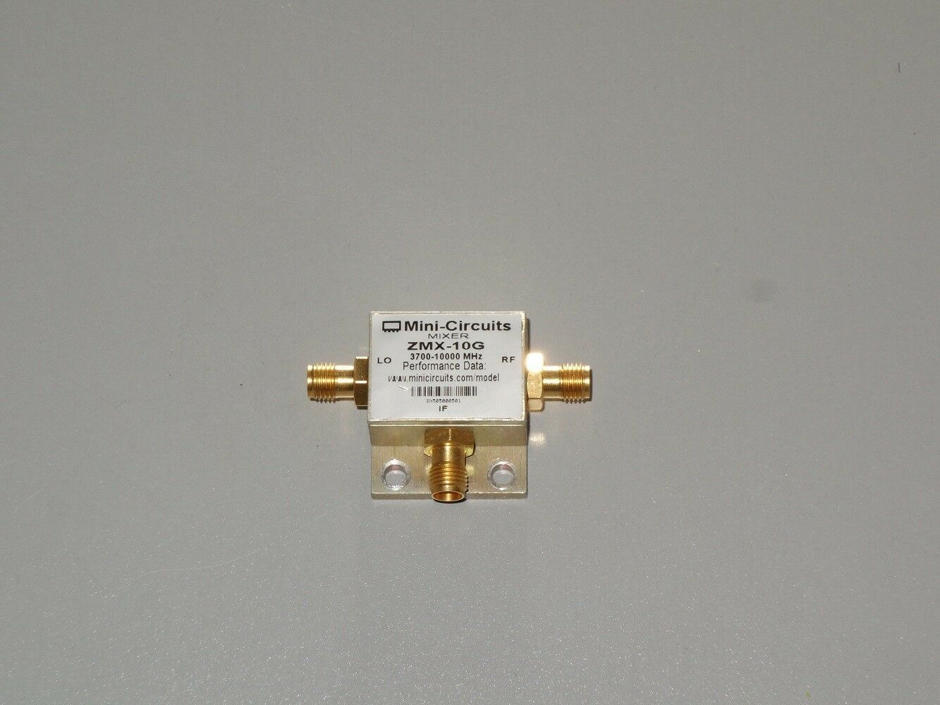 Details about Mini-Circuits ZMX-10G Coaxial Frequency Mixer 3700 to 10000  MHz Tested