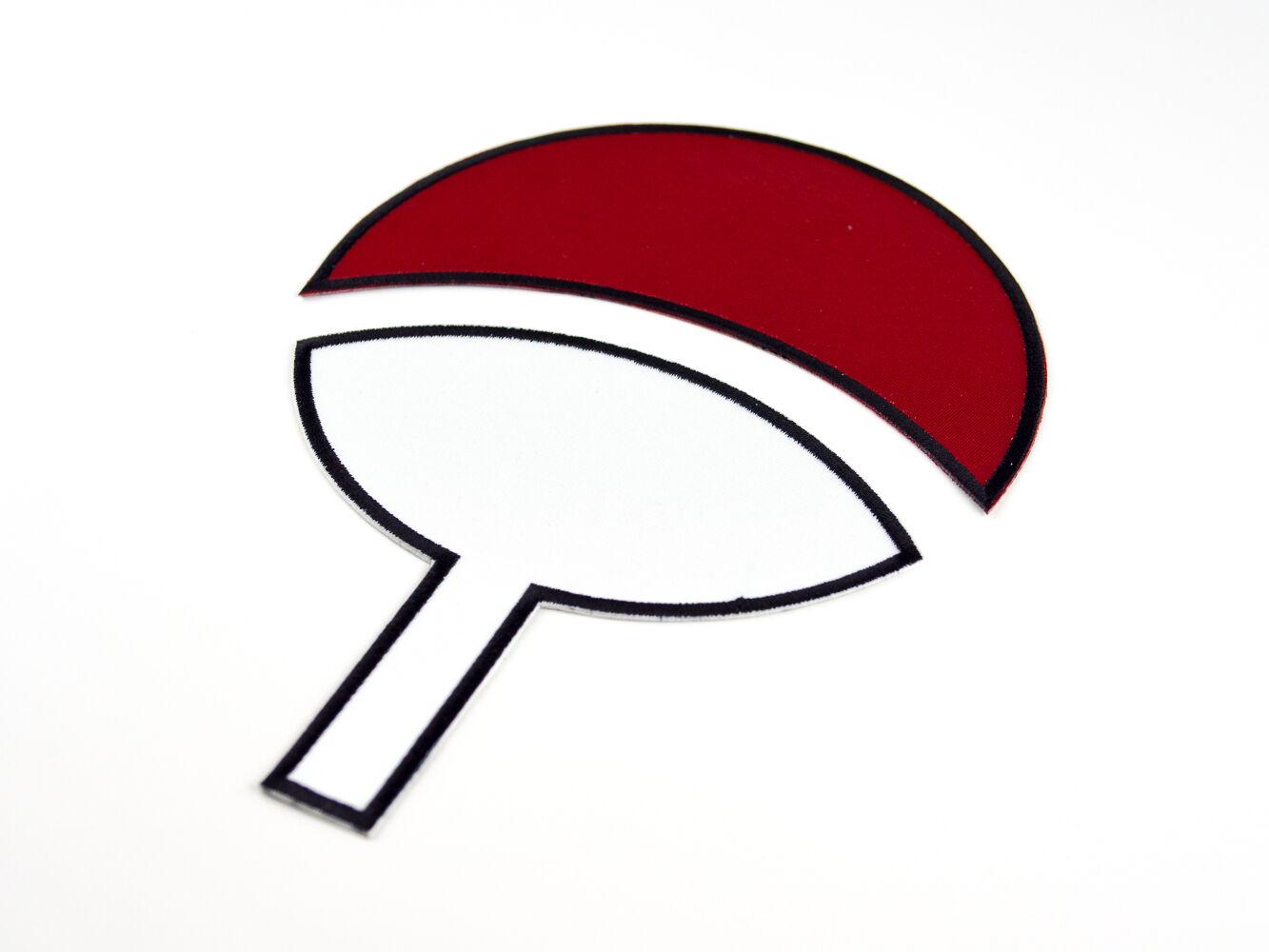 Small Uchiha Clan Symbol Naruto Embroidered Iron On Patch Iron On