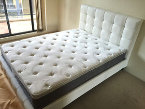 Brand New Pillow Top Hard Mattress 25cm Thickness Melbourne CBD Melbourne City Preview