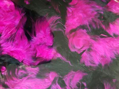 Piume di Boa Boa Nero Viola Marabù Conici 180 cm 70 G Carnevale Charleston 20