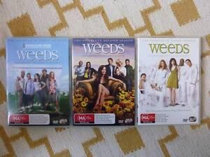 WEEDS - SEASON 1, 2 & 3 DVD Summer Hill Ashfield Area Preview