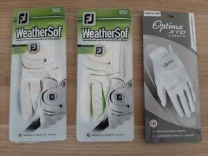 Three brand new Ladies Golf Gloves. 2 x Footjoy, 1 x Otpima