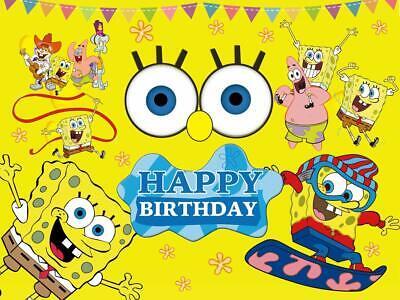New Spongebob Squarepants Birthday Party Supplies Tableware & Balloons Decor Spongebob Squarepants Birthday Party Supplies