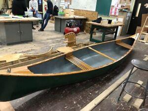 """16"""" cedar strip canoe and kit"""