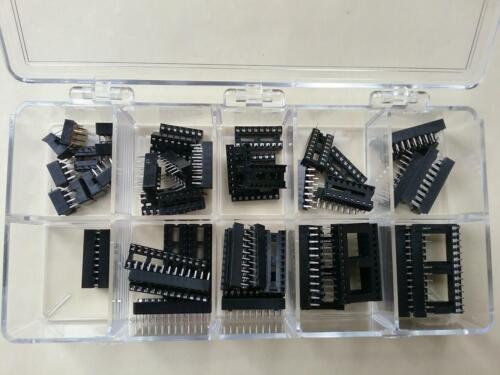 53 Pc. Assortment Kit of Augat IC Sockets