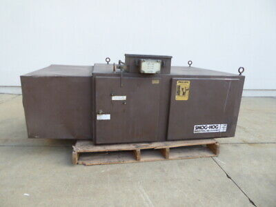 Used Dust Collector - Smog-Hog 2000 CFM Dust Collector DC2117-Dust Collectors