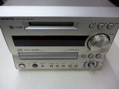 ONKYO FR-X9A CD MD Compact Disk Mini Disk Recorder Deck  JAPAN F/S